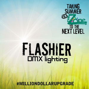 Flashier DMX lighting