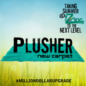 Plusher new carpet