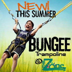 New! This summer - Bungee Trampoline @TheZone