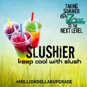 slushier - keep cool with slush